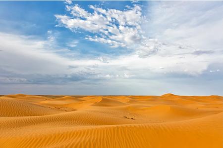 """Калмыкия. Бархан """"Поющие пески"""""""