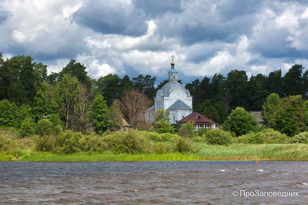 Вознесенская церковь. Поселок Пржевальское