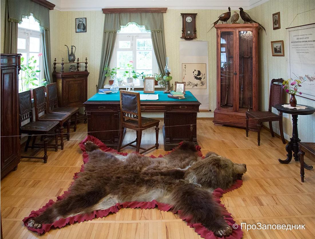 Музей Пржевальского. Кабинет