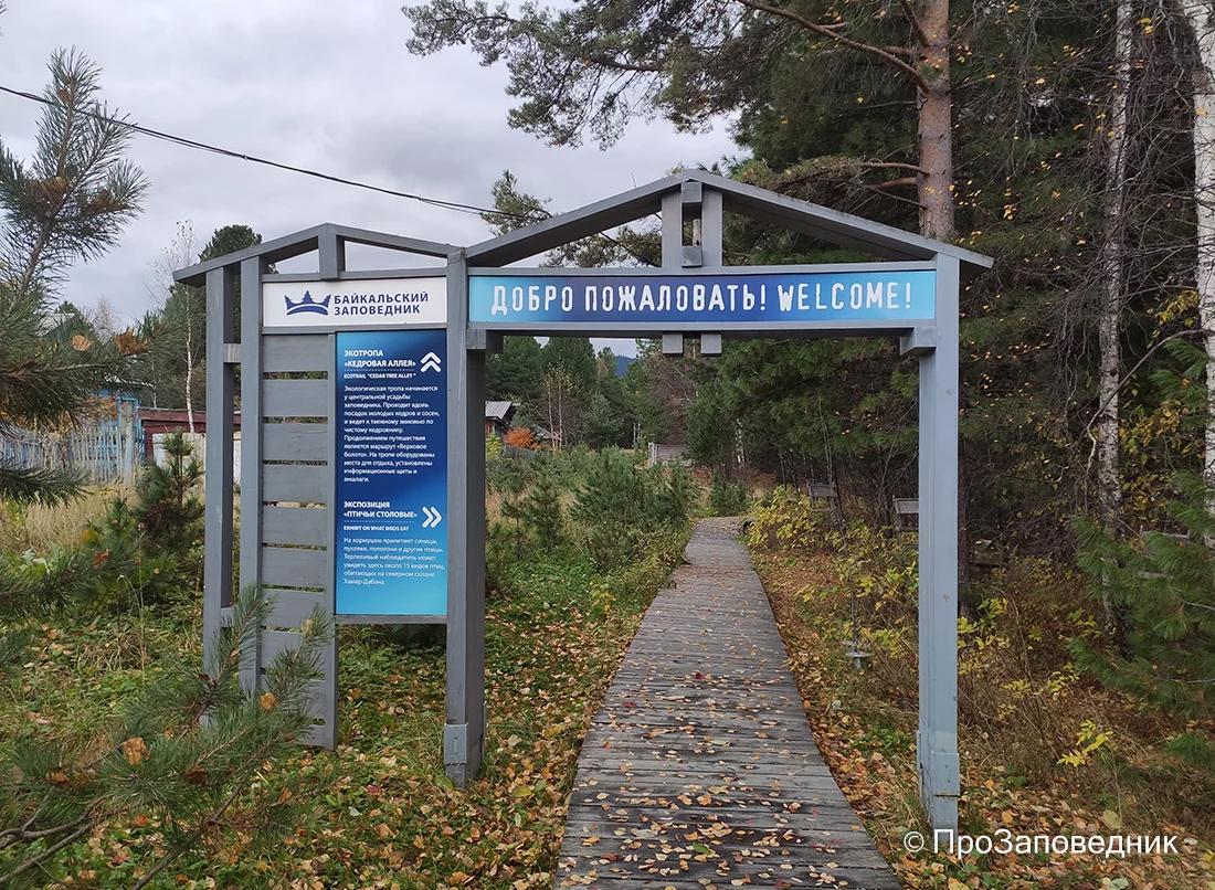 Байкальский заповедник. Выход на экологические тропы