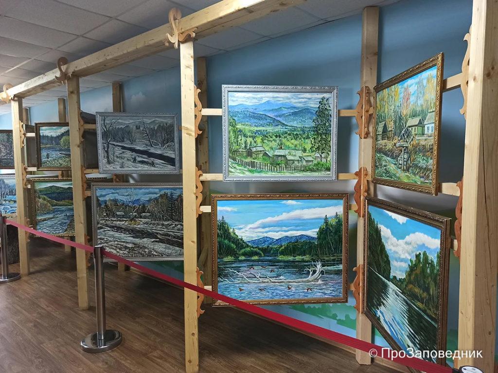 Выставка картин Ивана Дункая