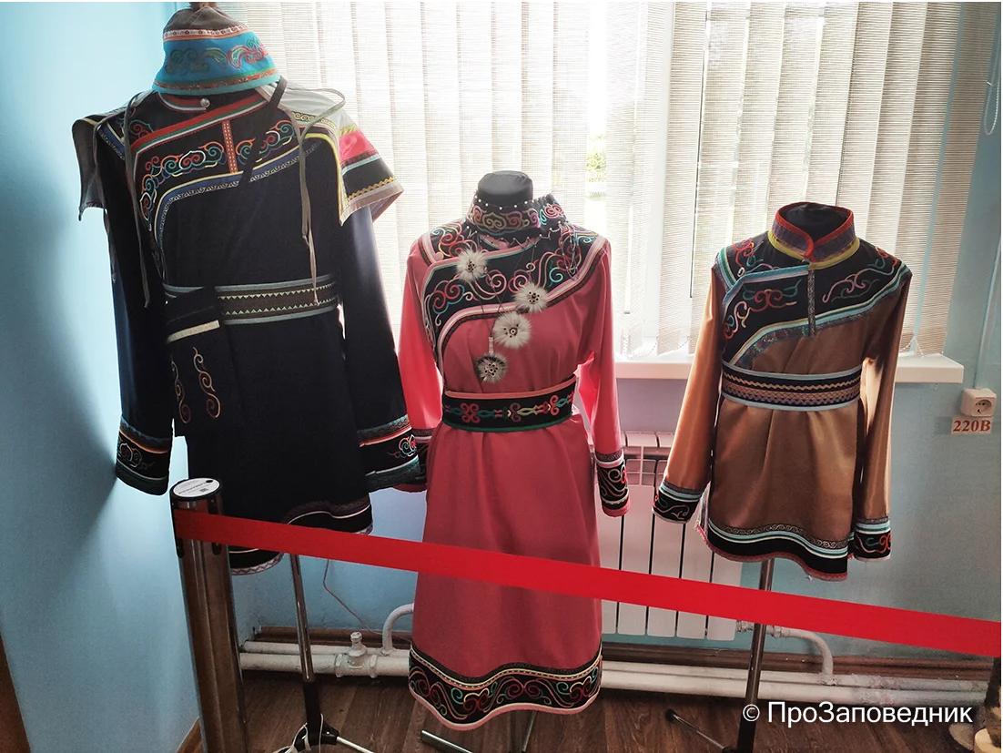 Национальные удэгейские костюмы