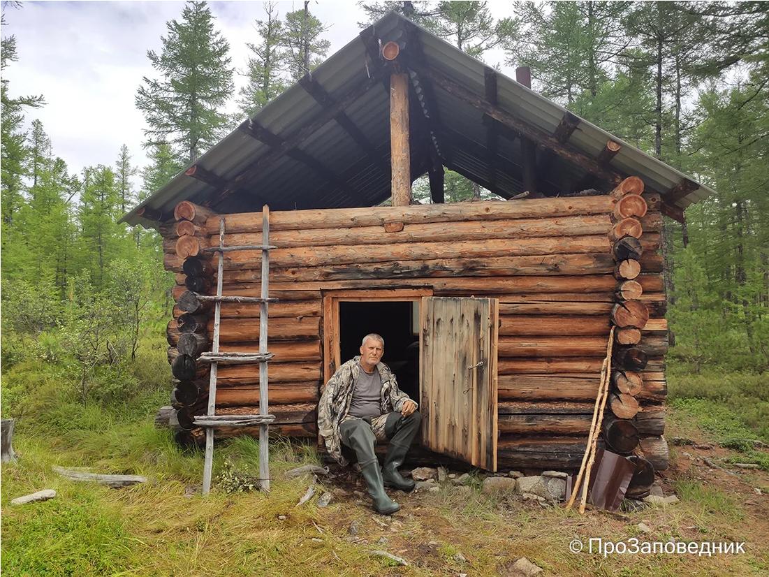Сохондинский заповедник. Зимовье на озере Угдыри