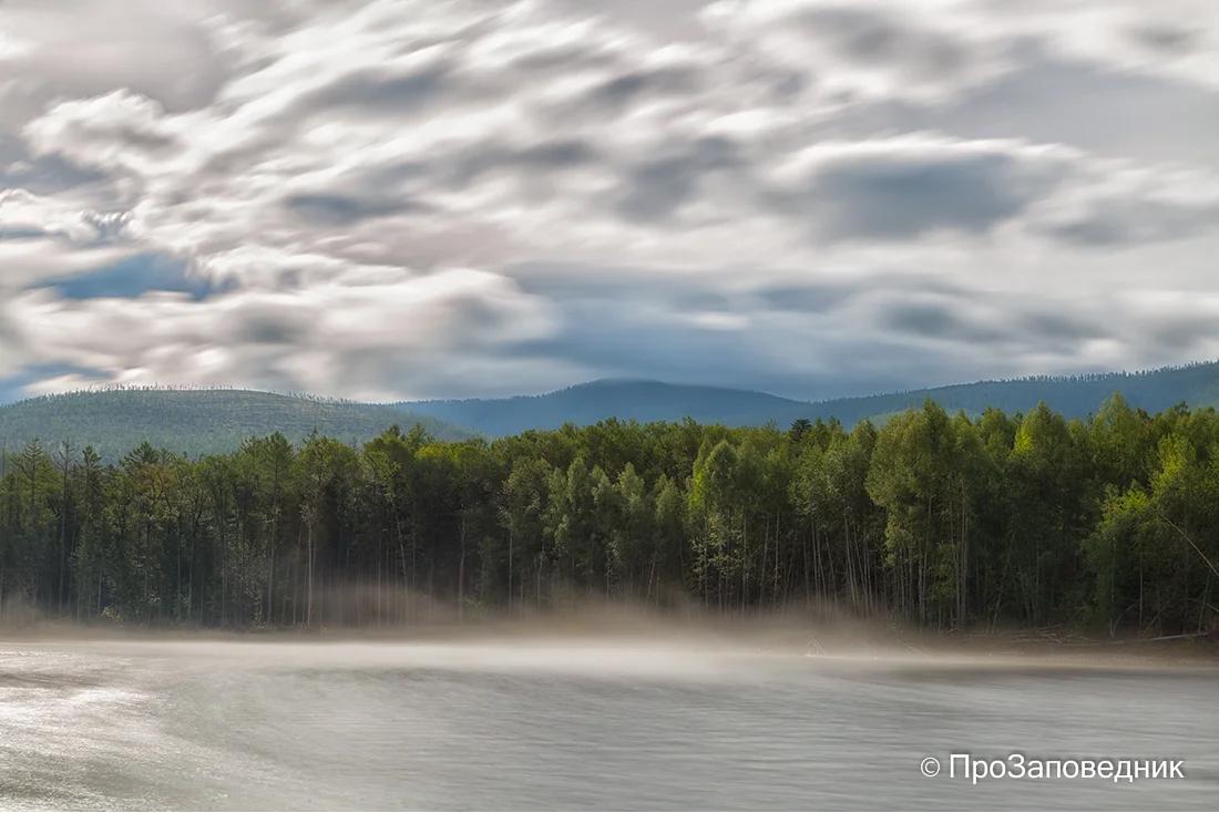 Туман на реке Бурее