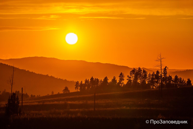 закат над  Сибильдуем