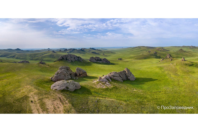 горная  степь Адон-Челона