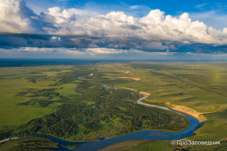 долина реки онон