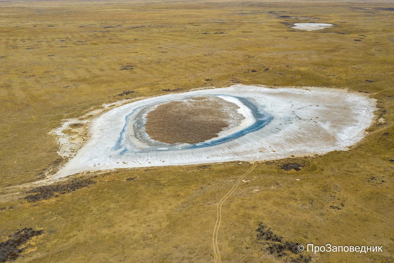 Солончаковое озеро - сага