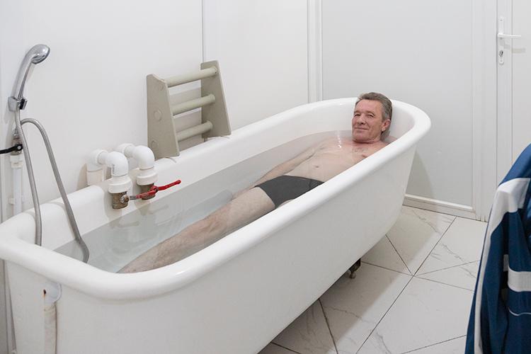 Радоновые ванны. Курорт Нилова пустынь